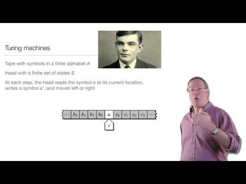 Computation In Complex Systems: Computation Everywhere : Turing Machines thumbnail