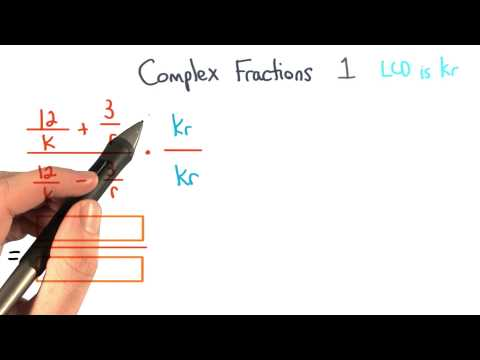 Complex Fractions Simplify 1 - Visualizing Algebra thumbnail