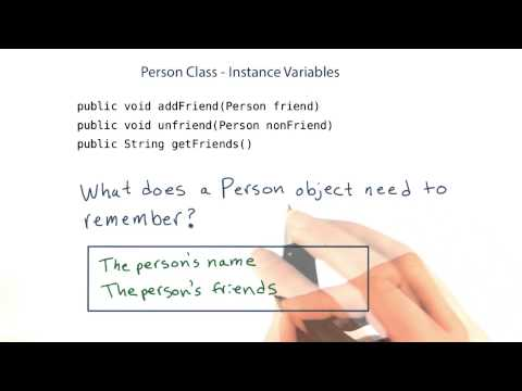 Instance Variables - Intro to Java Programming thumbnail