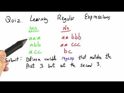 07-19 Learning Regular Expressions thumbnail