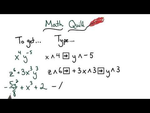 Math Quill Exponents - Visualizing Algebra thumbnail
