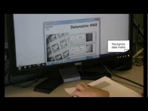 Magic Finger: Always-Available Input through Finger Instrumentation -- ACM UIST 2012 thumbnail