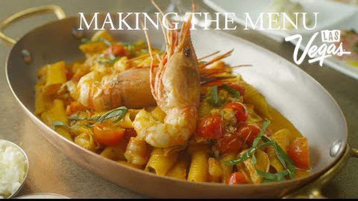 Costa di Mare | Making the Menu