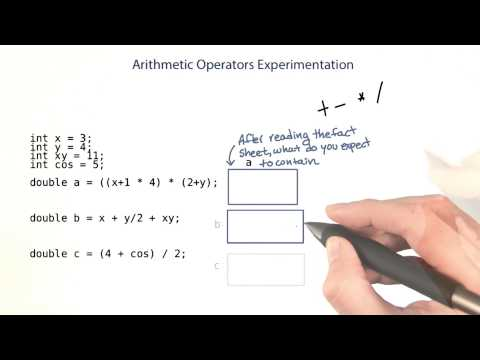 Arithmetic Operations - Intro to Java Programming thumbnail