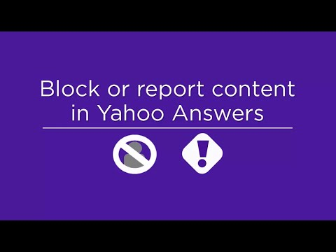 Block or report content in Yahoo Answers thumbnail
