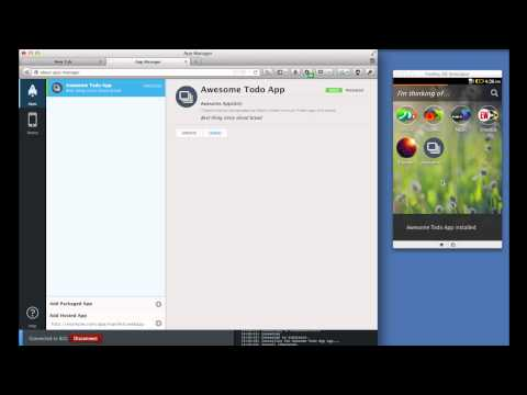 App Basics for Firefox OS -  Testing in the Simulator thumbnail