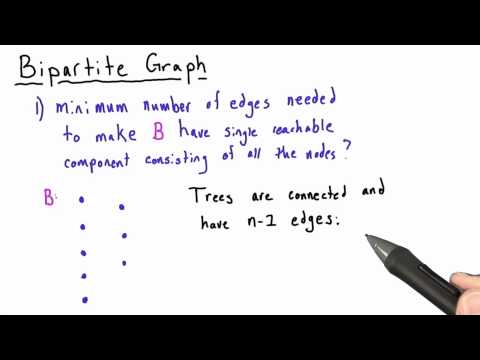 Bipartite I - Intro to Algorithms thumbnail