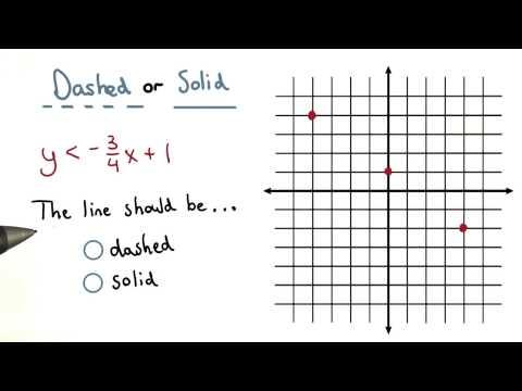 Dashed or Solid - Visualizing Algebra thumbnail