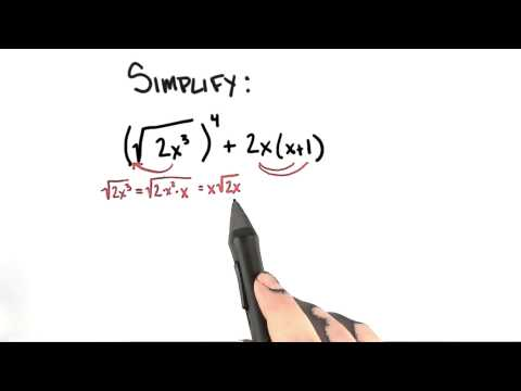 Simplifying Expressions - College Algebra thumbnail