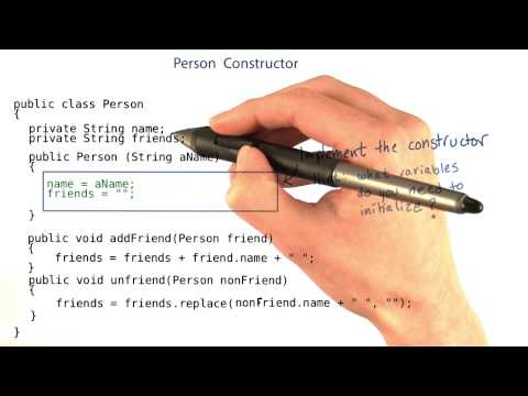 Person Constructor - Intro to Java Programming thumbnail