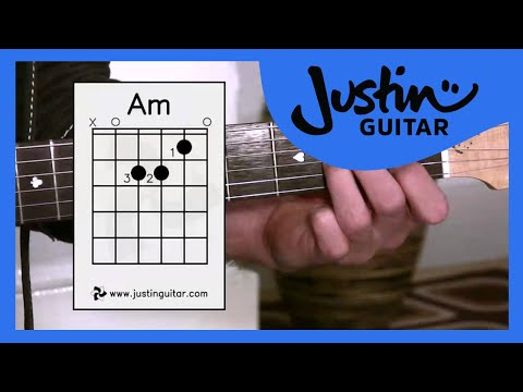 The Amin Chord (Guitar Lesson BC-121) Guitar for beginners Stage 2   thumbnail