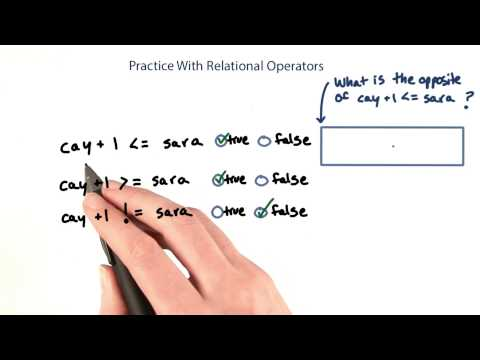 More Practice with Relational Operators - Intro to Java Programming thumbnail
