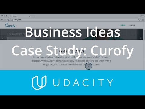 Case Study Business Idea Types - Curofy  Product Design  Udacity thumbnail