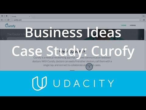 Case Study Business Idea Types - Curofy  Product Design  Udacity thumbnail