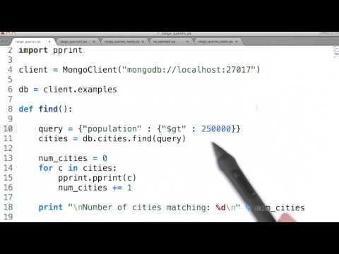 Range Queries - Data Wranging with MongoDB thumbnail