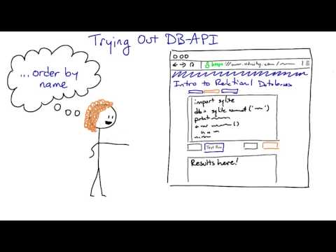 Trying out DB API - Intro to Relational Databases thumbnail
