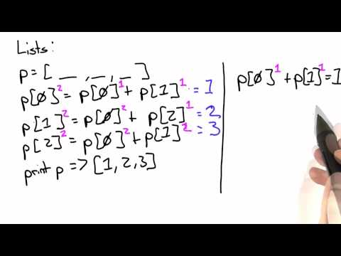Lists Solution - Intro to Computer Science thumbnail