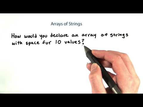 16-09 Array of Strings thumbnail