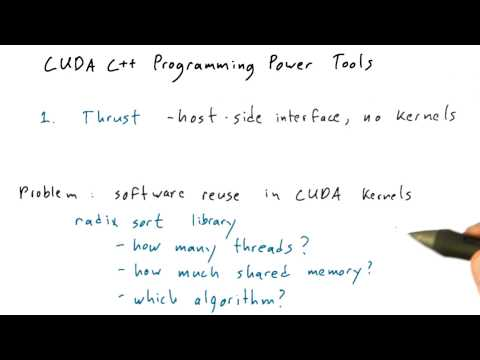 CUB - Intro to Parallel Programming thumbnail