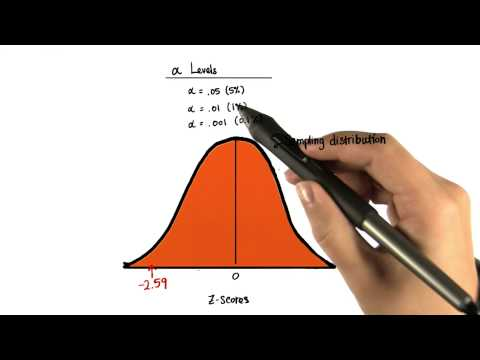 Two-Tailed Critical Values 005 - Intro to Inferential Statistics thumbnail