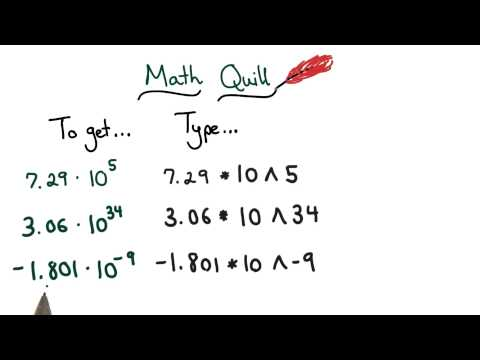 Math Quill Scientific Notation - Visualizing Algebra thumbnail