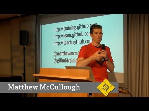 Git Merge • The state of Teaching Git (Matthew McCullough) thumbnail