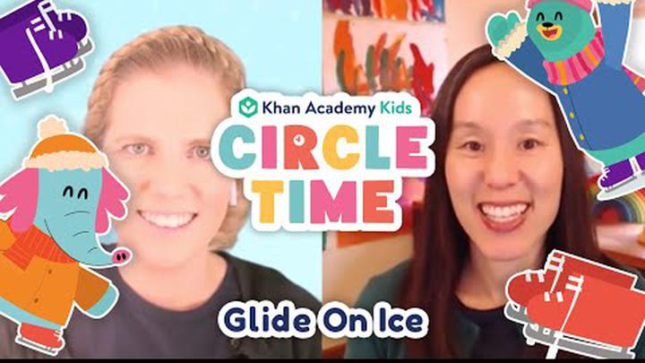 Ollo Learns How To Ice Skate | Read About Seal Pups | Circle Time with Khan Academy Kids