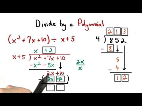 Long Divsion of Polynomials - Visualizing Algebra thumbnail