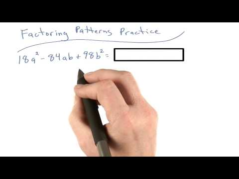 Factoring Patterns Practice 7 - Visualizing Algebra thumbnail