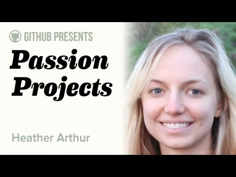 GitHub Presents • Passion Projects (Live) #2 • Heather Arthur (Machine Learning) thumbnail