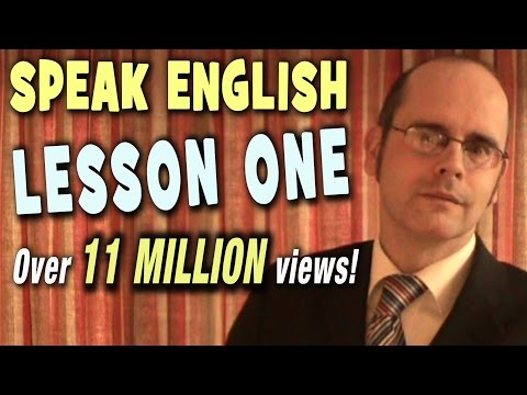 Learning English  -  Lesson One  (Introduction) thumbnail
