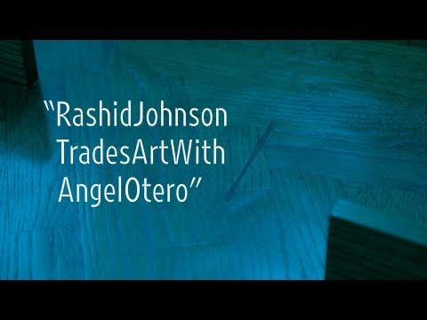 "Rashid Johnson Trades Art with Angel Otero | ""New York Close Up"" 