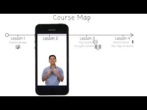Course Map - Intro to iOS App Development with Swift thumbnail