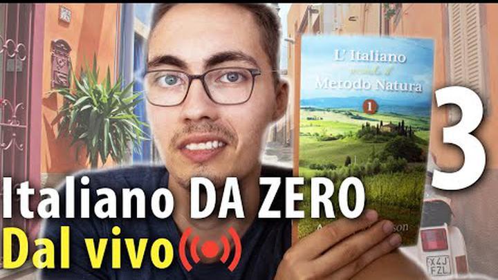 Italiano DA ZERO 3 - Family members - Italian for absolute beginners LIVE