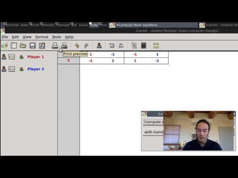 GTD 8 1 Solving Static Games with Gambit thumbnail