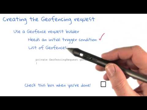 Creating the Geofencing Request thumbnail
