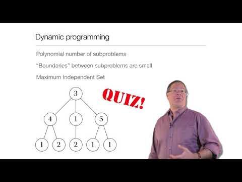 Computation in Complex Systems : Algorithms & Landscapes : Dynamic Programming Quiz thumbnail