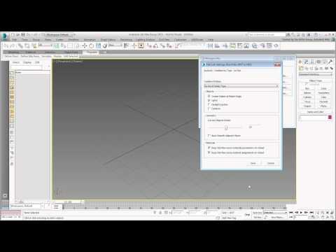 Revit Interoperability - Part 11 - Creating 3ds Max Link Presets thumbnail