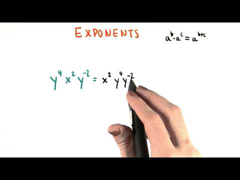 More Exponent Practice - College Algebra thumbnail