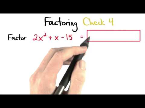 Factoring Check 4 - Visualizing Algebra thumbnail