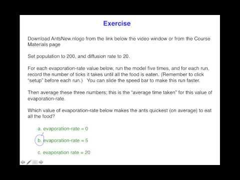 Intro 1.6 Introduction to NetLogo (Exercise Answer) thumbnail