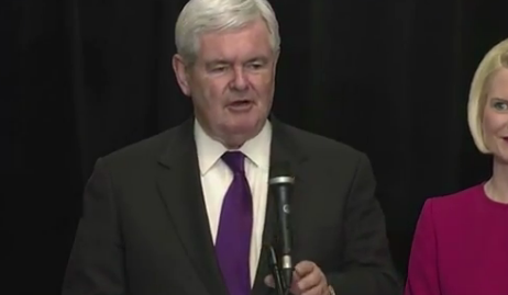 Watch Newt Gingrich's Full Speech Announcing End of Presidential Campaign thumbnail