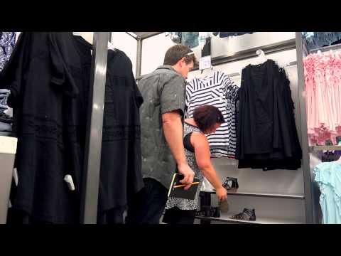 Sizing Her Up - Shoe Shopping thumbnail