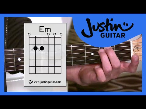 The Emin Chord (Guitar Lesson BC-122) Guitar for beginners Stage 2 thumbnail