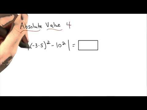 Absolute Value Practice 4 - Visualizing Algebra thumbnail