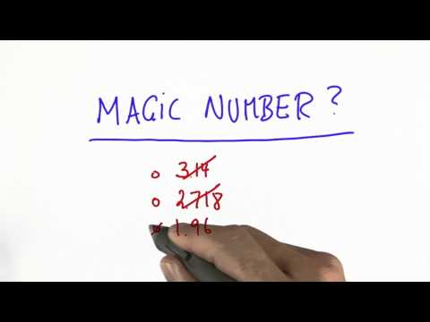 Magic Number Solution - Intro to Statistics thumbnail