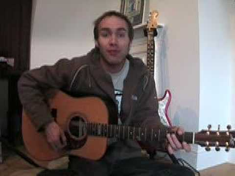 Mr Jones - Counting Crowes (Songs Guitar Lesson ST-508) How to play thumbnail