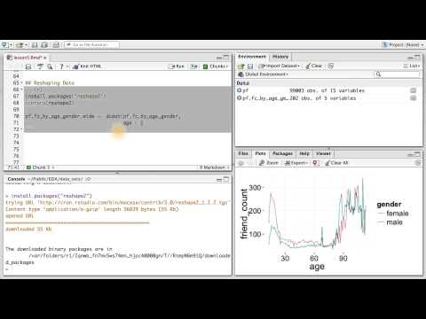Reshaping Data - Data Analysis with R thumbnail