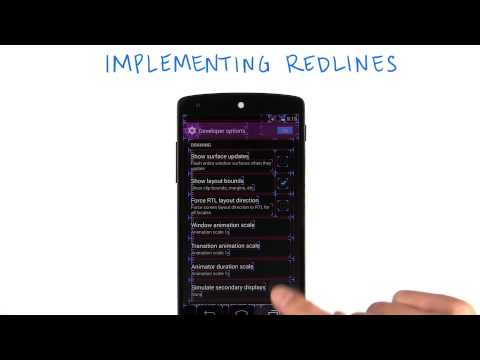 Implementing Redlines on Your Own - Developing Android Apps thumbnail