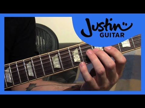 Lick #2: Half Diminished Slidey Trick (Guitar Lesson LK-002) How to play thumbnail